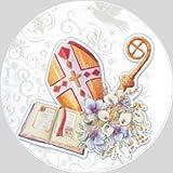 Tortenaufleger Tortenfoto Aufleger Foto Firmung/Kommunion rund ca. 20 cm (7) *NEU*OVP*