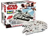 Revell Build & Play - Star Wars Millennium Falcon - 06765, Maßstab 1:164, originalgetreue Nachbildung mit beweglichen Teilen, mit Light&Sound Effekten, robust zum Spielen