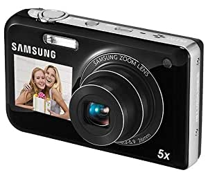 Samsung PL170 Appareil photo numérique Double écrans 16 Mpix MicroSD Noir