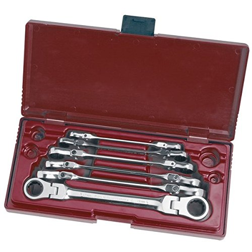 Kraftwerk-Coffret clés 3403-51-6 pzs. souple CLICKRAFT 8-19 mm
