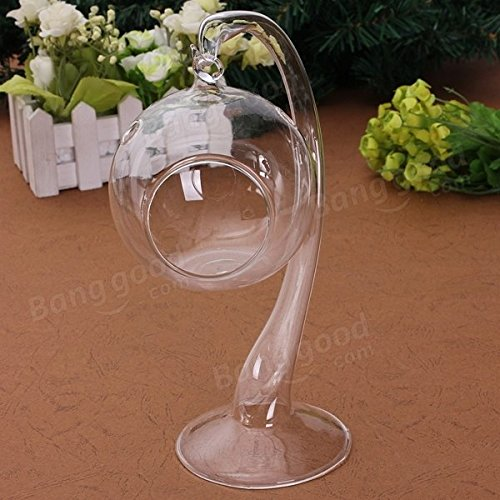 Pegasus Colgando vaso de cristal mesa de vela titular de la siembra lámpara de luz de velas de la boda cena romántica