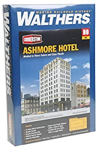 Walthers Cornerstone Escala H0 Kit Construcción Ashmore Hotel