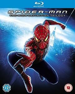 Spider-Man Trilogy [Blu-ray] [2007] [Region Free]