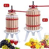 Obstpresse Saftpresse Weinpresse Beerenpresse Fruchtpresse Apfelpresse mechnanisch Presse Maischepresse in verschiedenen Größen (18L)