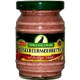 Produkt-Bild: Preiselbeer Meerrettich von Spreewald Rabe (100 g)