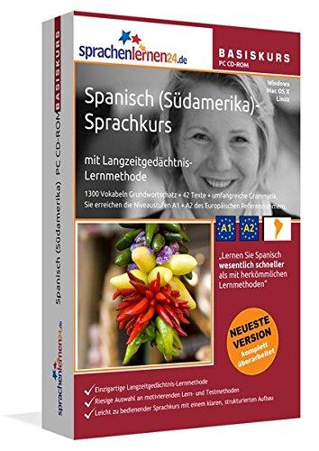 Spanisch (Südamerika)-Basiskurs mit Langzeitgedächtnis-Lernmethode von Sprachenlernen24:...