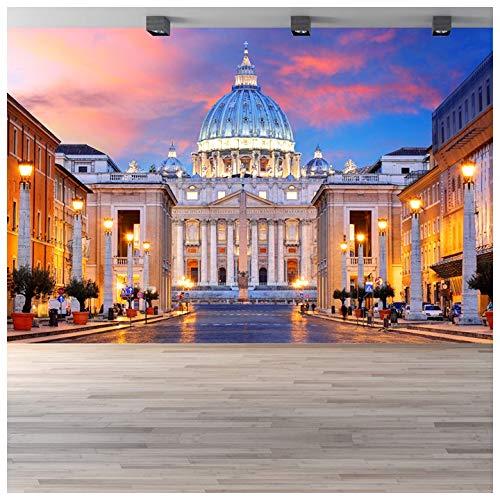 azutura Città del Vaticano Fotomurali Italia Roma Religione Carta Da Parati Camera da letto casa arredamento Disponibile in 8 misure Gigantesco Digitale