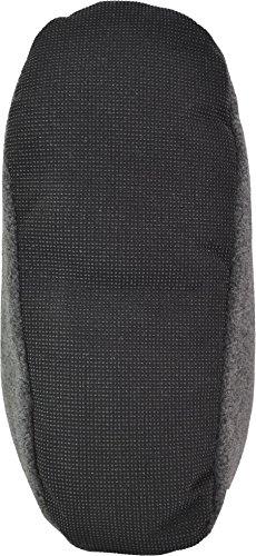 Kuschelweiche und sehr warme Herren Slippers Hausschuhe aus Fleece mit ABS Sohle Anthrazit