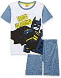 LEGO Batman Jungen Zweiteiliger Schlafanzug 79209, (Bleu Jaune), 6 Jahre