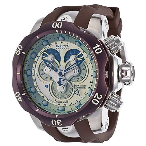 Invicta Herren-Armbanduhr Venom Chronograph Quarz Silikon 14461 (Für Venom Invicta Männer Uhren)