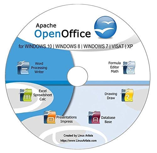 OpenOffice 2018 Full Latest Edition | Compatible with Word, Excel and  PowerPoint