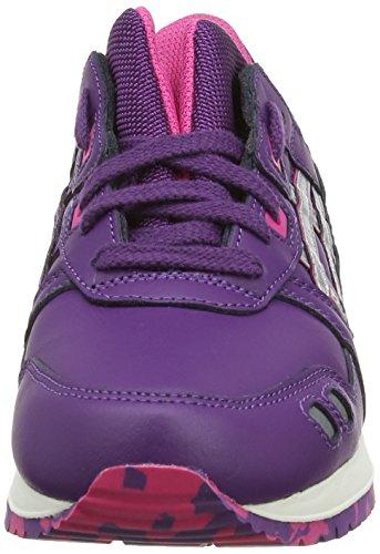 ASICS Gel-Lyte III, Damen Outdoor Fitnessschuhe Violett (Purple/Silver 3393)