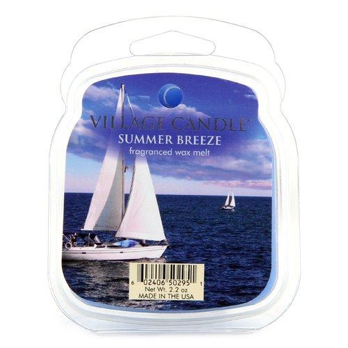 Village Candle Premium Wax Melt Pack für Öl/Wachs-Brenner, Summer Breeze