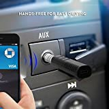 #2: TRUE STORE ;BEST QUALITY Bluetooth Speaker With Bluetooth Receiver BT2 /Bluetooth 4.2 Dongle /3.5mm Car Aux Adapter For Music Streaming Sound System & Hands-free Audio Adapter - AUX Kit for Speaker Headphone Car Stereo