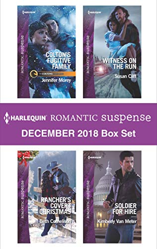 uspense December 2018 Box Set: Colton's Fugitive Family\Rancher's Covert Christmas\Witness on the Run\Soldier for Hire (English Edition) ()