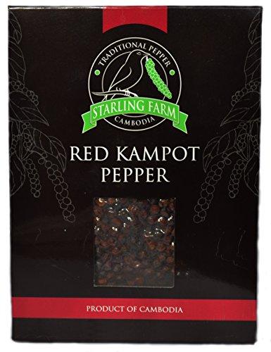 Roter Kampot Pfeffer (100 g - Rote Pfefferkörner
