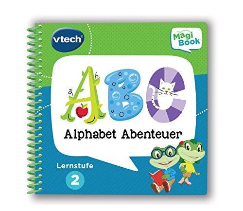 Vtech 80-480604 - Magibook - Lernstufe 2 - Alphabet Abenteuer