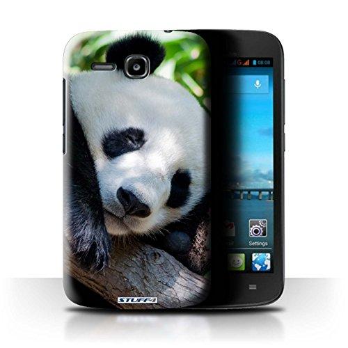 Stuff4® Hülle/Hülle für Huawei Ascend Y600 / Pandabär Muster/Wilde Tiere Kollektion