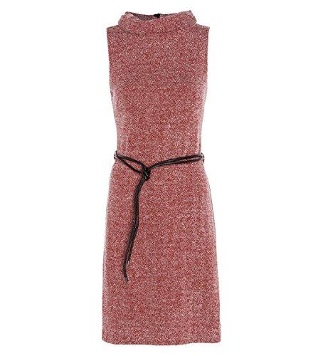 zero Damen Kleid im melierten Look 313830 winter orange-m 34