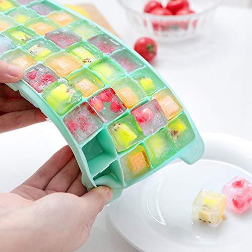 Set von 6 2019 New Summer Haushalt Eisform Box Hohe Qualität Kühlschrank Silikon Band Abdeckung Frozen Ice Gitter Einfache Werkzeuge