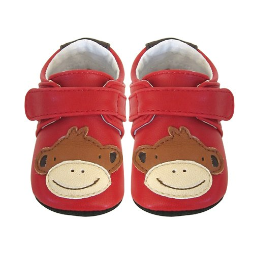 Jack & Lily-Monkey Red/Puppy Light Blue/Whale Mid Blue/Skull Black Monkey Red