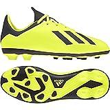 adidas Unisex-Kinder X 18.4 FxG Fußballschuhe, Gelb Negbás/Amasol 001, 29 EU