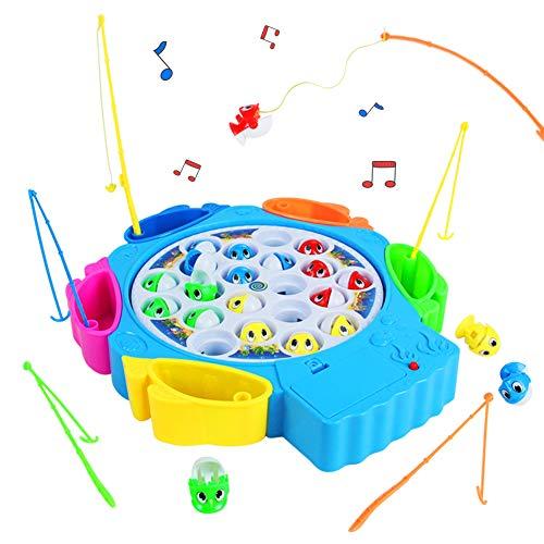 Jeux Peche a La Ligne Enfant Jeux Musical avec Poisson...