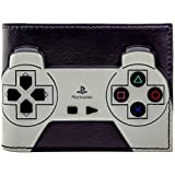 Playstation1 Original-Controller mit Tasten Schwarz Portemonnaie Geldbörse