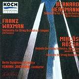 Concerto for String Orchestra / Sinfonietta for String Orchestra