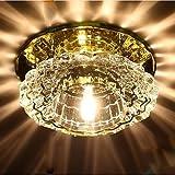 WYFC 3 W10cm Crystal Light SMD LED-Strahler Decken . gold