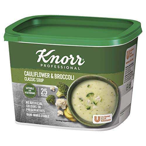 Knorr Classic Cauliflower and Broccoli Soup Mix, 25 Portions (Makes 4.25L)