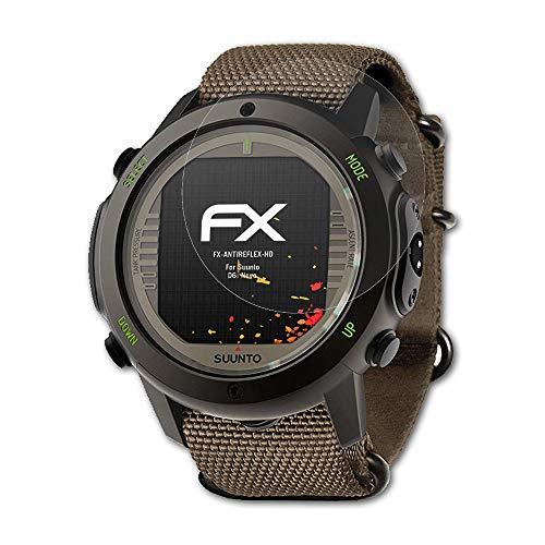 atFoliX Folie für Suunto D6i Novo Displayschutzfolie - 3 x FX-Antireflex-HD hochauflösende entspiegelnde Schutzfolie
