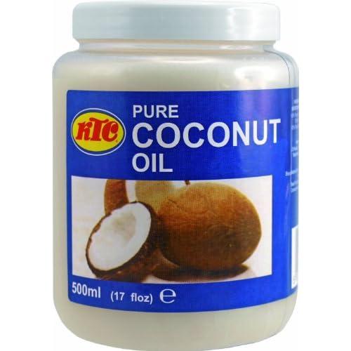 6er Pack 100 Pur Kokosl 6x 500ml Cocosl Ktc Pure Coconut Oil