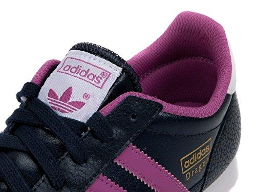 adidas Originals Dragon J, Baskets mode mixte enfant Bleu