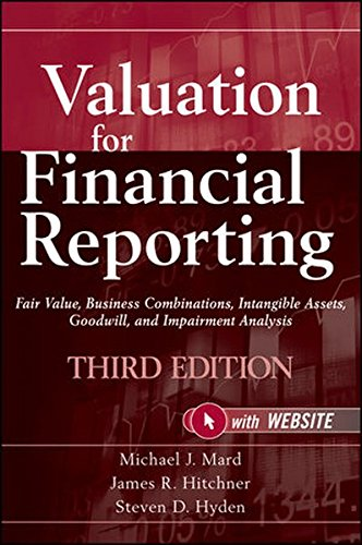Valuation for Financial Reporting: Fair Value, Business Combinations, Intangible Assets, Goodwill, and Impairment Analysis