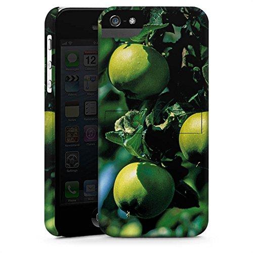 Apple iPhone X Silikon Hülle Case Schutzhülle Äpfel Baum Früchte Premium Case StandUp