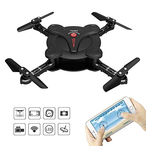 RC-Quadcopter-Drone-avec-FPV-camra-vido-et-Live–Flexible-tragfl-Gel–App-Contrle-et-WiFi-Tlphone-uav-rabattable–Hauteur-Attitude-3D-Flips-et-roues–6–Axes-De-toupie-Capteur-de-gravit-RTF-Hlicoptre-