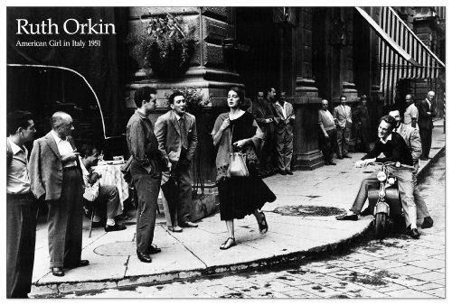 orkin-american-girl-in-italy-1951-panneaux-mdf-90x60-cm