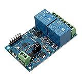 Ils - DC12V 2 Kanal Bluetooth Relais IOT Smart Home App Fernbedienung Schalter