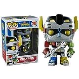 Funko - Figurine Voltron - Voltron Metallic Exclu Pop 10cm - 0849803093792