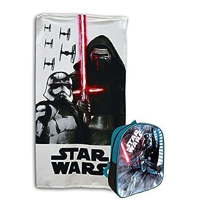 51P%2BfAJ5BHL. SS416  - Star Wars Set Mochila + toalla