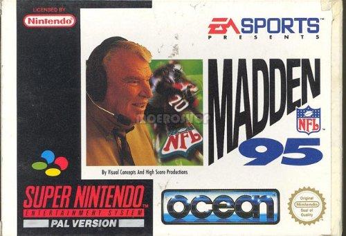 Madden NFL 95 - Super Nintendo - PAL