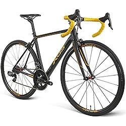 RT800 racefiets road racing Ultralight Carbon Fiber Bike Racing Special Rate Change Wireless Wireless 22 Speed, Gold-700C * 25C