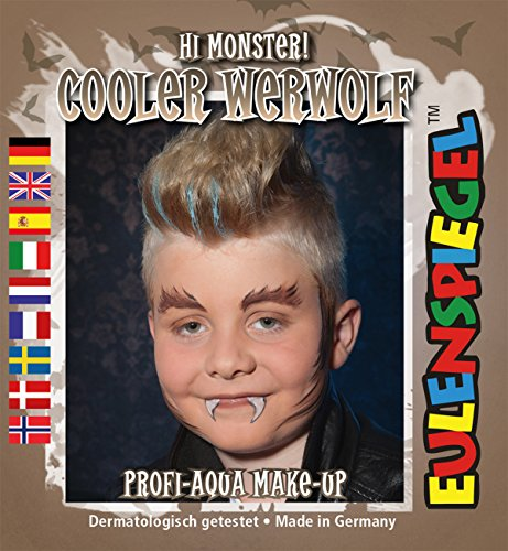 cooler Werwolf Hi Monster ! Profi-Aqua Make-up Halloween - Make-up Halloween High Monster Für
