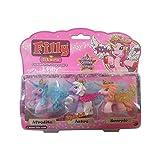 Lively Moments 3 Filly Stars Pferdchen mit Swarovskistein / Pferd / Einhorn / Spielzeug / Spielfiguren Afrodite, Astro & Scorpio