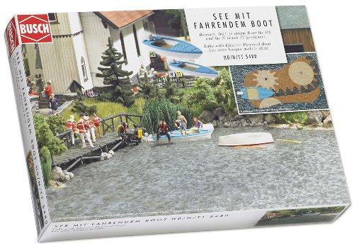 Busch 5480 - See mit fahrendem Boot Preisvergleich