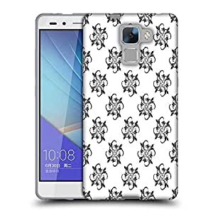 Snoogg Awesum Pattern Designer Protective Phone Back Case Cover For Huawei Honor 7