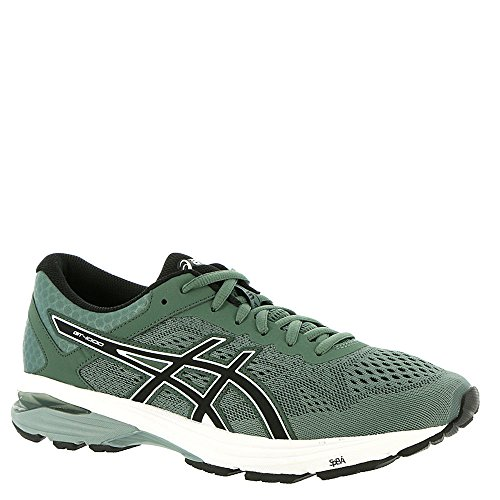 ASICS Mens GT-1000 6 Dark Forest/Black/White Running Shoe - 8