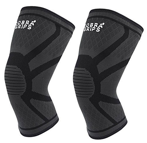 d540c51d77 Knee Compression Sleeve Support (1 Pair) & Compression for Weightlifting  Powerlifting & Crossfit Best