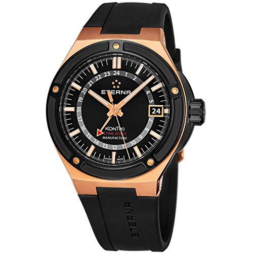 Eterna Royal Kon Tiki GMT Reloj de Hombre automático 43mm 7740-63-41-1289